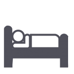 This icon notates a Club that has overnight accommodations.